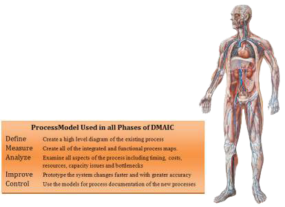 dmaic project savings in all phases