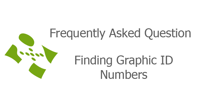 Finding Graphic ID Numbers