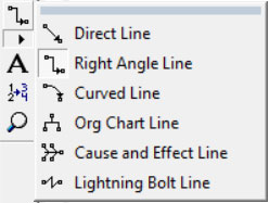 line selector tool for processmodel