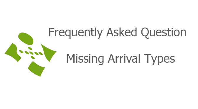 Missing Arrival Types