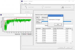 Optimization converged in simrunner