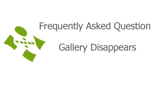 Gallery Disappears