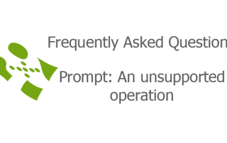 Prompt: An unsupported operation