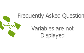 Variables are not Displayed