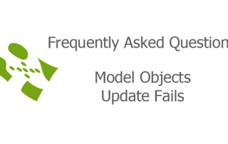 Model Objects Update Fails