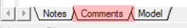 Comments Layer in ProcessModel