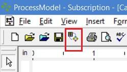 Importing data and simulating processmodel