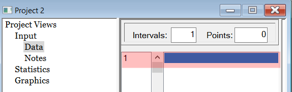 Stat::Fit Inputting Data