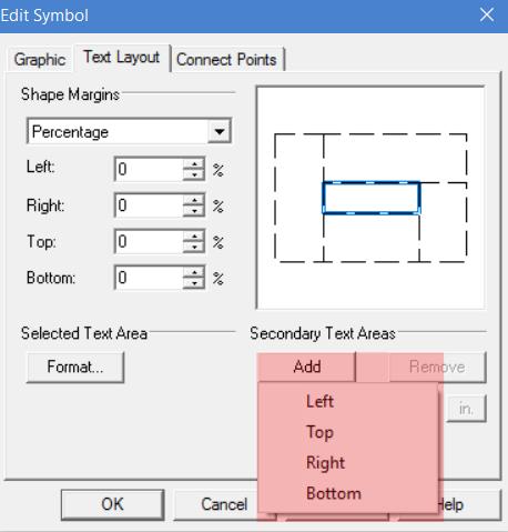 editing symbols to add text