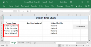 ProcessModel time allows times studies to be set up quickly and run flawlessly.
