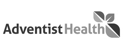 Client Adventist Health Grayscale image
