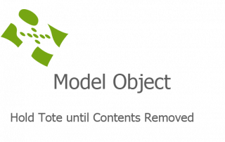 Hold Tote until Contents Removed