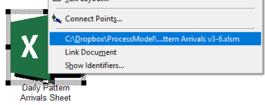 Open Excel file for Daily Pattern Arrivals