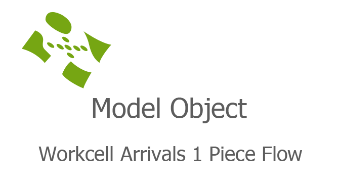 Workcell Arrivals 1 Piece Flow