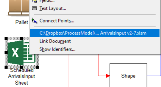open excel in Import and Overall Flow - Manufacturing