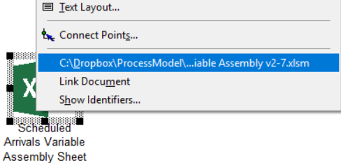 opening Scheduled Arrivals Variable Assembly in Import Variable Assembly Arrivals