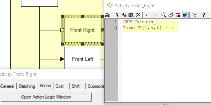 action logic on attach route from task