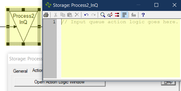 add Action Logic in the Input Queue