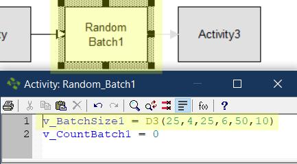 update action logic Random Batch Size