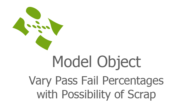 Vary Pass Fail Percentages with Possibility of Scrap fi