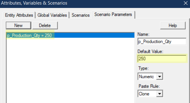 update scenario parameter in End Production After X Completions