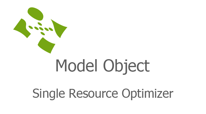 Single Resource Optimizer