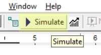 simulate model in Calculate Elapsed Time
