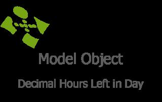 Decimal Hours Left in Day