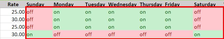 VAO Schedule Planner workbook 4