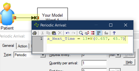 add action logic to arrival in Remaining Length of Stay Estimator