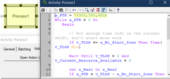 define action logic value for Release Entity to Next Shift