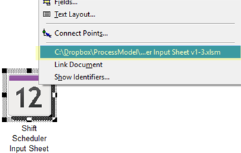 open excel file in Shift Scheduler