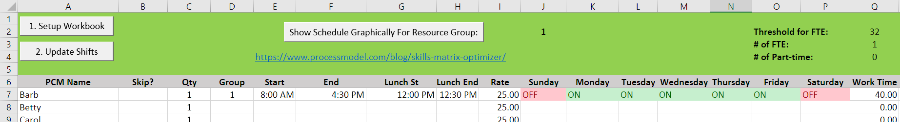 Skills Matrix Optimizer graph 17