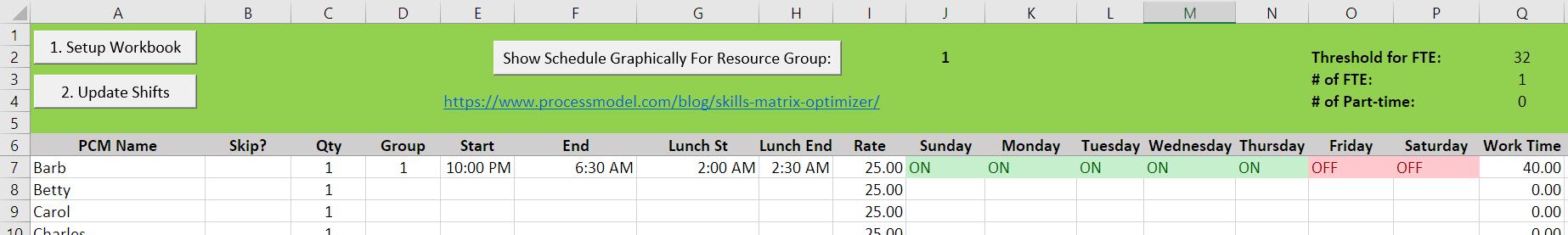 Skills Matrix Optimizer graph 20