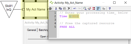 add time to Res Action logic in Input Queue