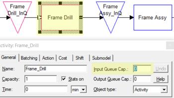 change input queue in Manufacturing Planner