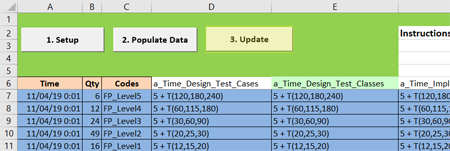 scheduled arrivals update in Software Testing 1